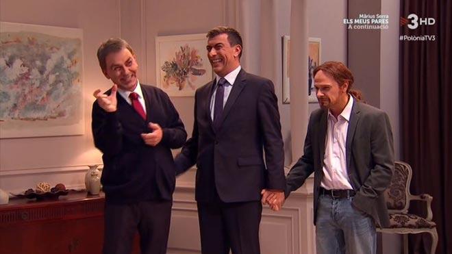 Pedrito, Pablito y mamá ZP ('Polònia', TV-3).