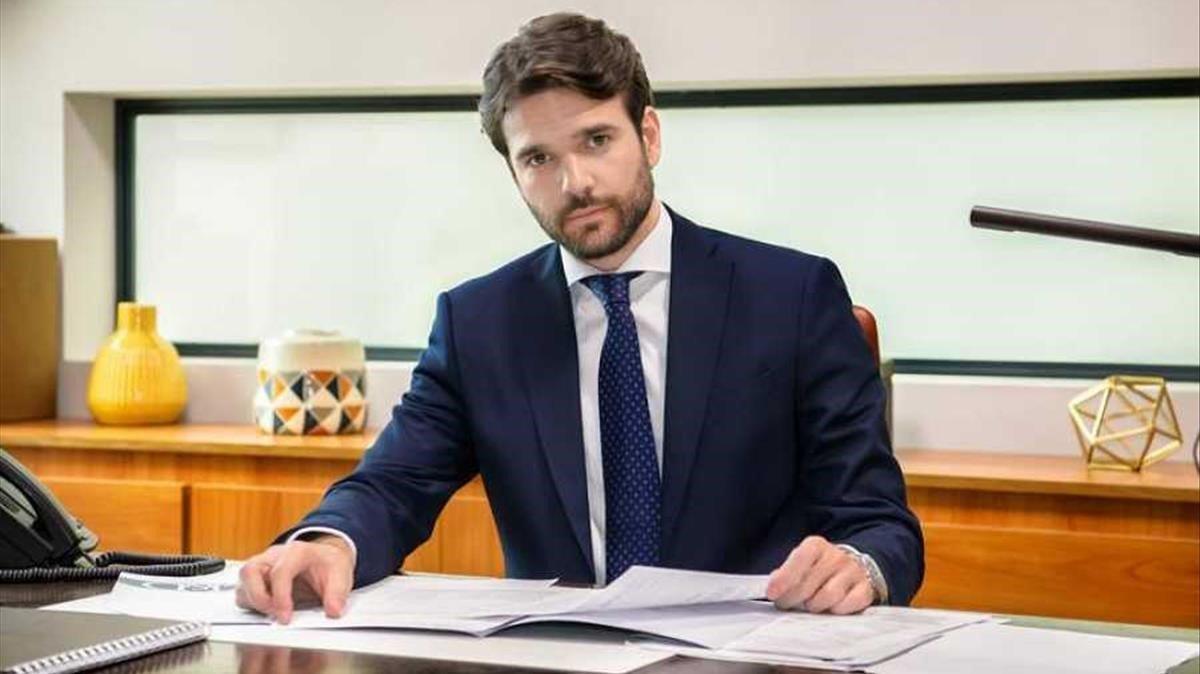 Jon Arias ha trabajado en otras series de TVE como 'El ministerio del tiempo' u 'Olmos y robles'