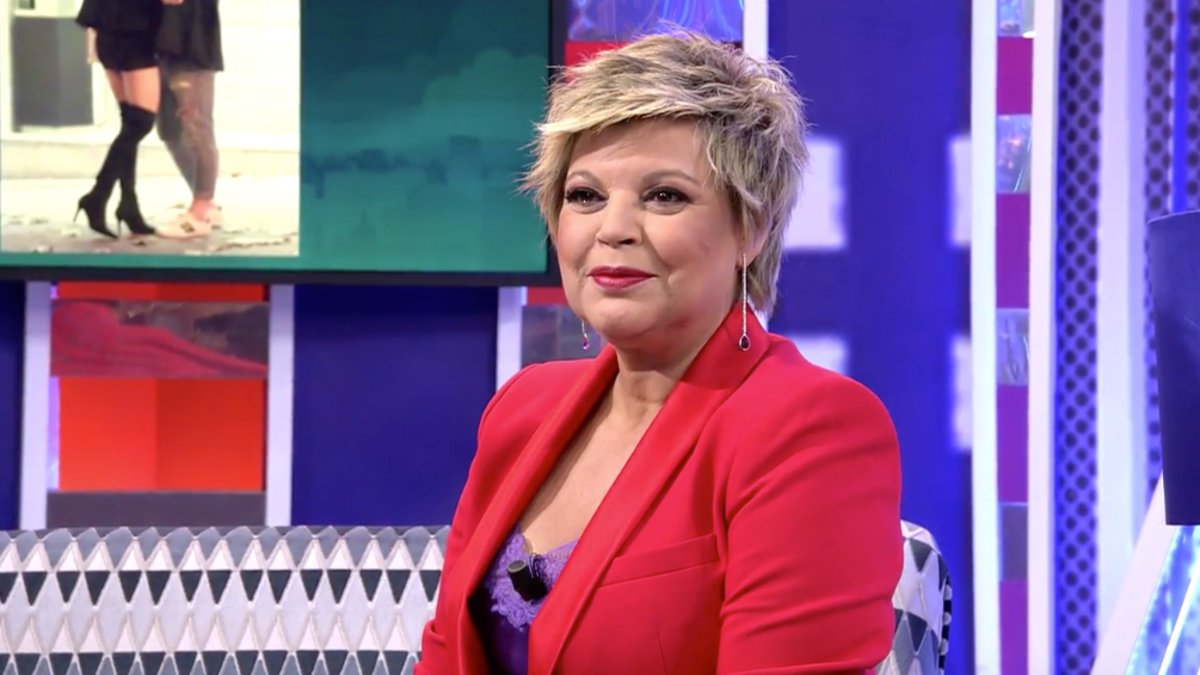 Terelu Campos en 'Sábado Deluxe'.