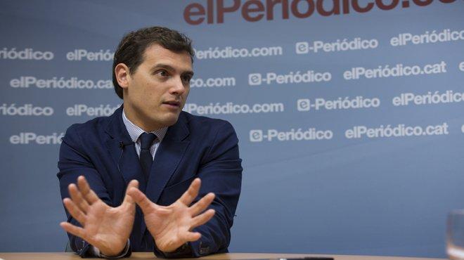 Resumen entrevista con Albert Rivera, Presidente de Ciudadanos.