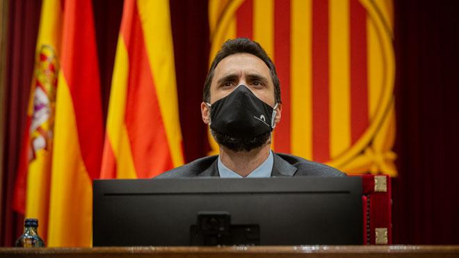 Torrent señala el 14 de febrero como fecha de las elecciones en Catalunya.