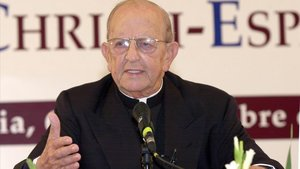El religioso mexicano Marcial Maciel,fundador de la congregación de losLegionarios de Cristo, en el 2001