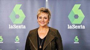 La periodista Glòria Serra, presentadora de 'Equipo de investigación' en La Sexta.
