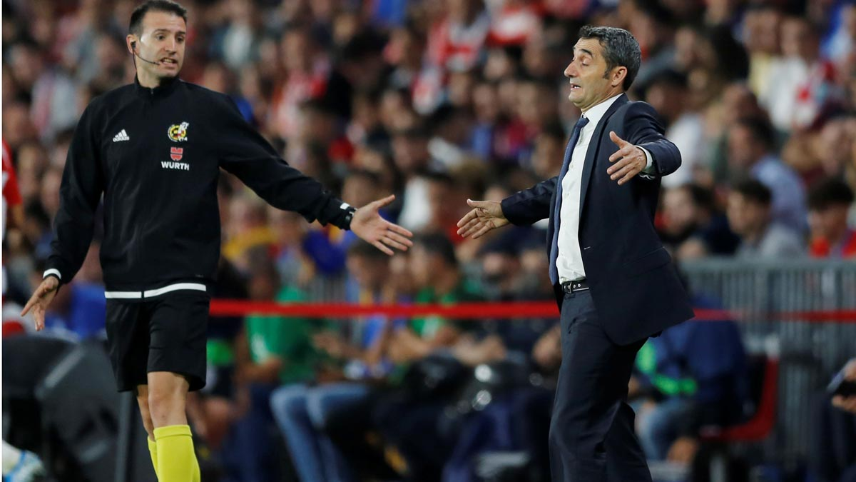 Valverde: Me siento responsable de lo ocurrido.