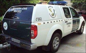 Un vehículo del Grupo de Especialistas en Actividades Subacuáticas (GEAS).
