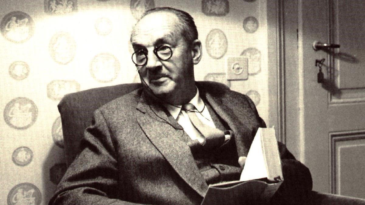 El escritor ruso Vladímir Nabókov en 1964.