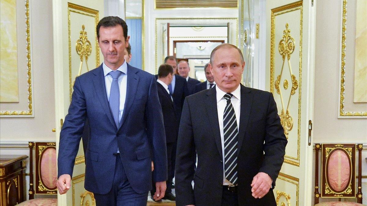 Familiars d'Assad posseeixen pisos de luxe a Moscou