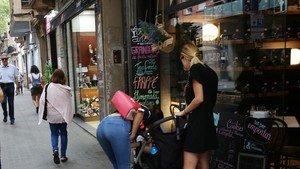 L'ocupació al comerç de Barcelona arriba a els nivells previs a la crisi