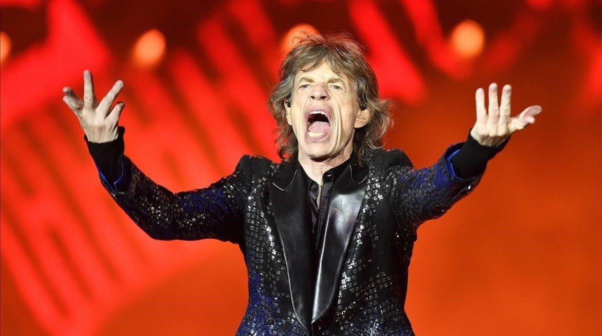 Mick Jagger, operat del cor amb èxit