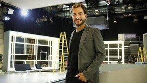 Ricard Ustrell (Sabadell, 1990), en su época en el programa de TV-3 Preguntes freqüents.