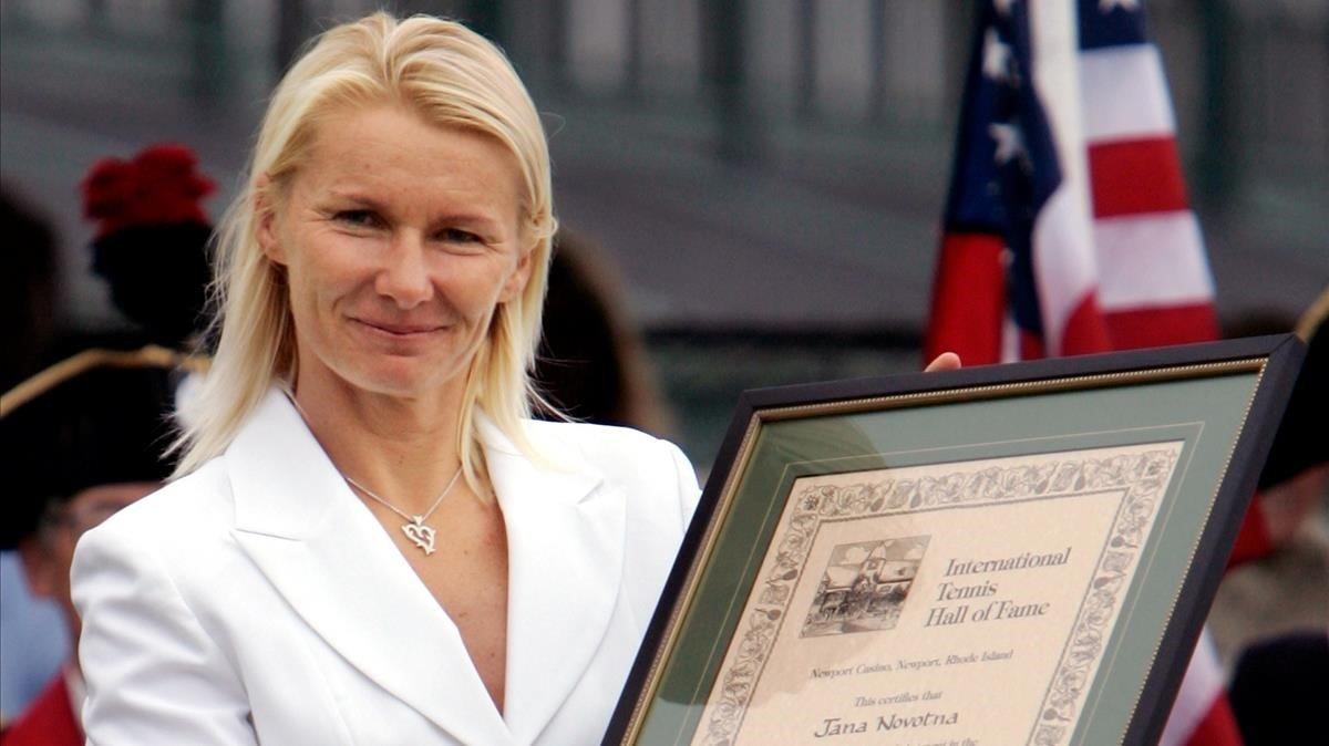 Mor l'extennista Jana Novotna, víctima d'un càncer, als 49 anys