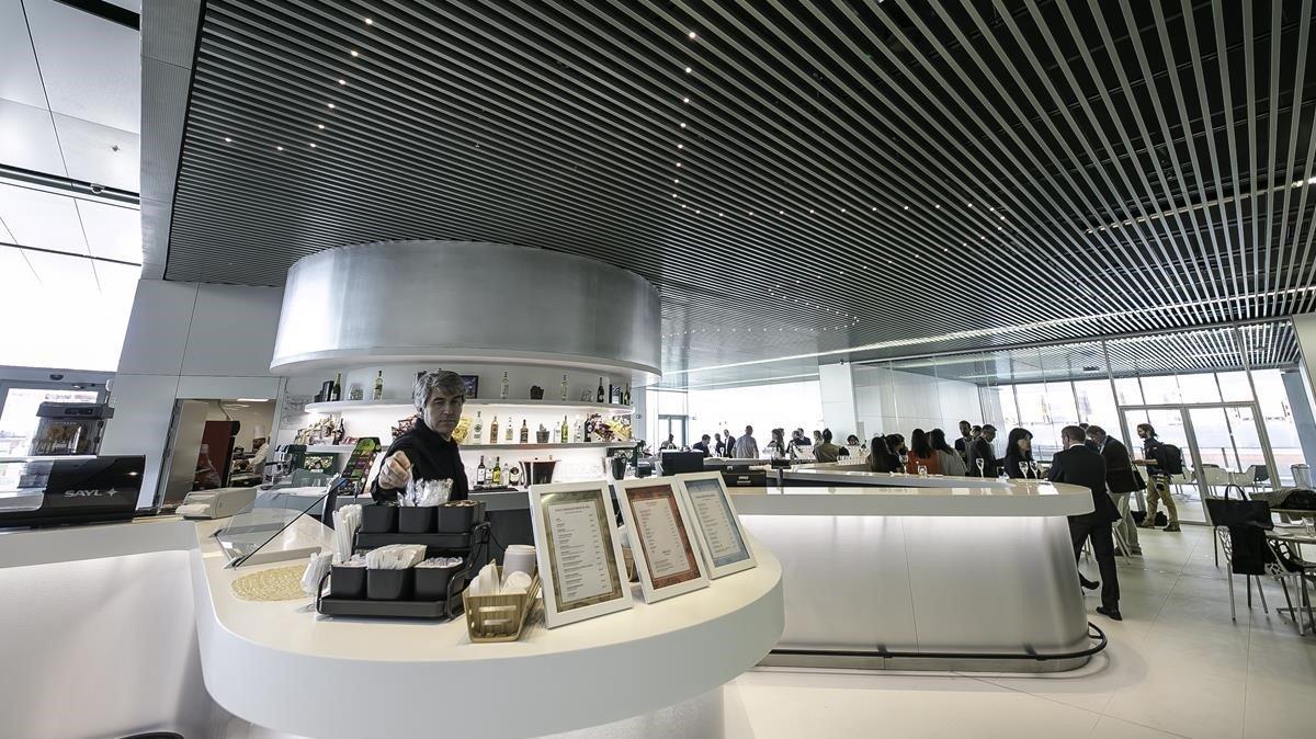 Bar de la terminal E.