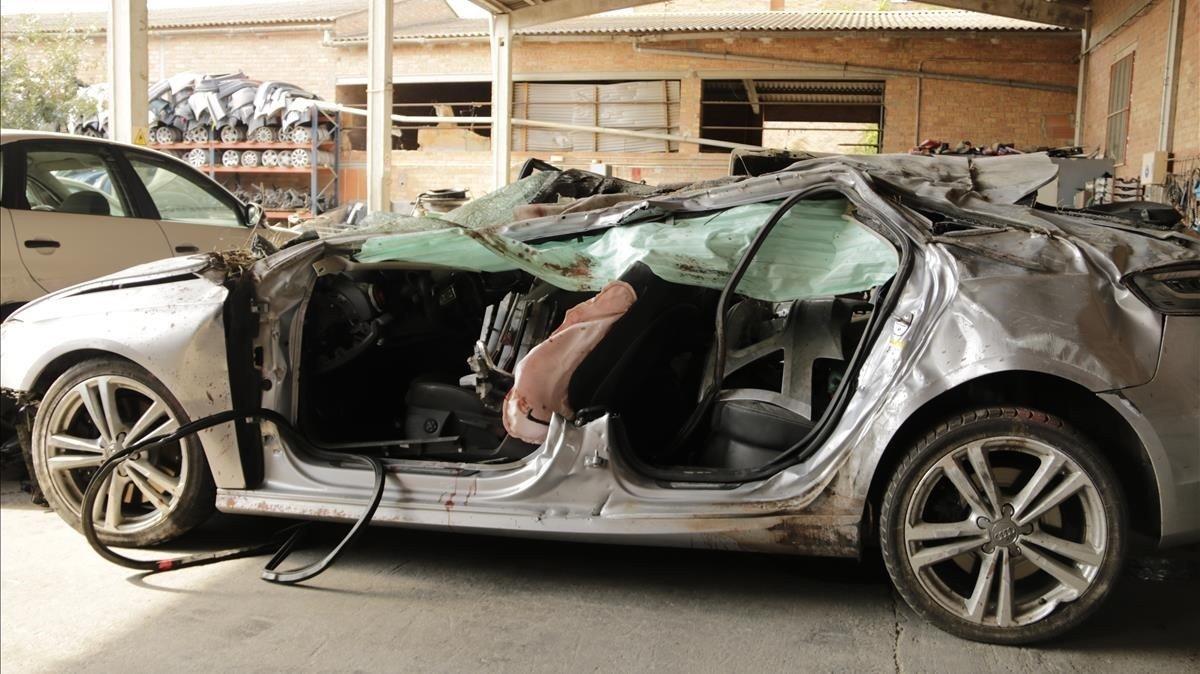 Tres persones moren en un accident a la C-12 a Balaguer
