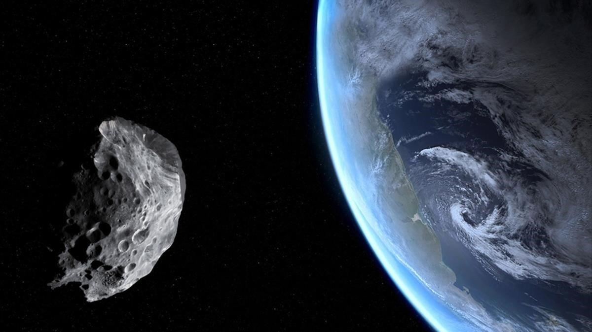 Un asteroide dues vegades més gran que un avió passarà molt a prop de la Terra