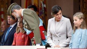La princesa Leonor i la infanta Sofia assistiran també a l'acte de la Constitució en el Congrés