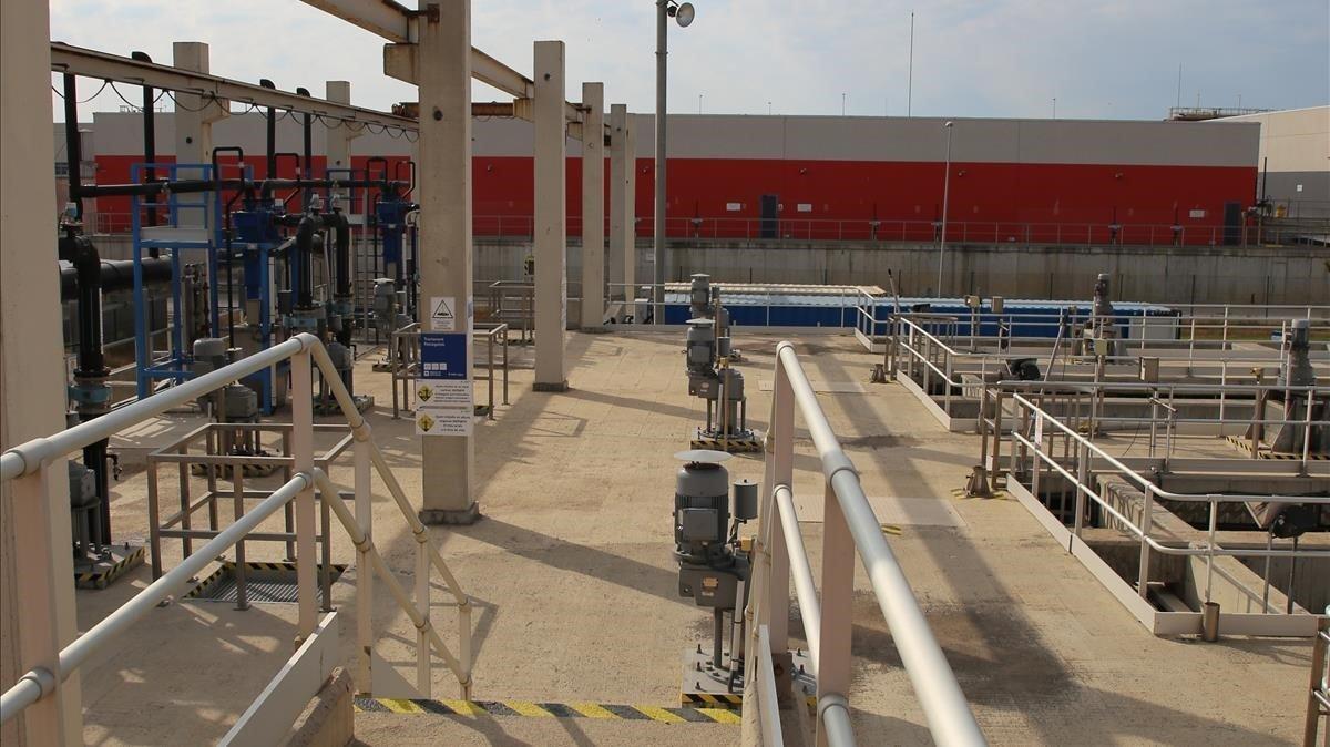 Estación de Aguas Regeneradas de El Prat del Llobregat.