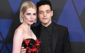 Rami Malek i Lucy Boynton: parella d'estrena (i promoció)
