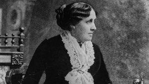 La escritora norteamericanaLouisa May Alcott.