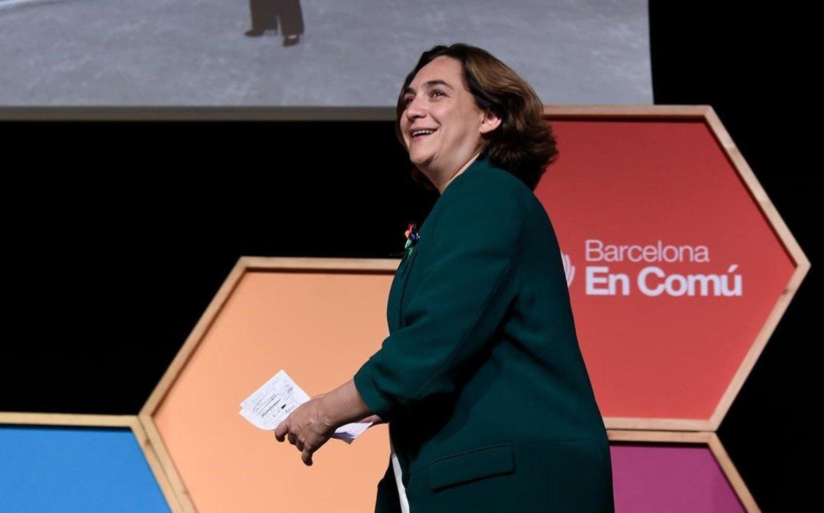"""Ada Colau, sobre els vots de Manuel Valls: """"Benvinguts siguin"""""""