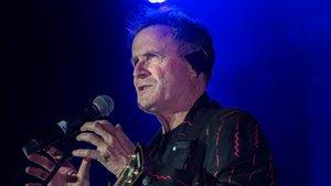 Johnny Clegg, durante un concierto en Sudáfrica en el 2017.