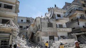 La província siriana d'Idlib, una terra arrasada per la guerra