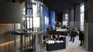 CaixaBank obre l'oficina bancària més gran d'Europa