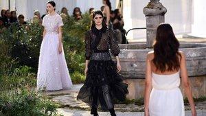 Desfile de Chanel en la Semana de la moda de París.