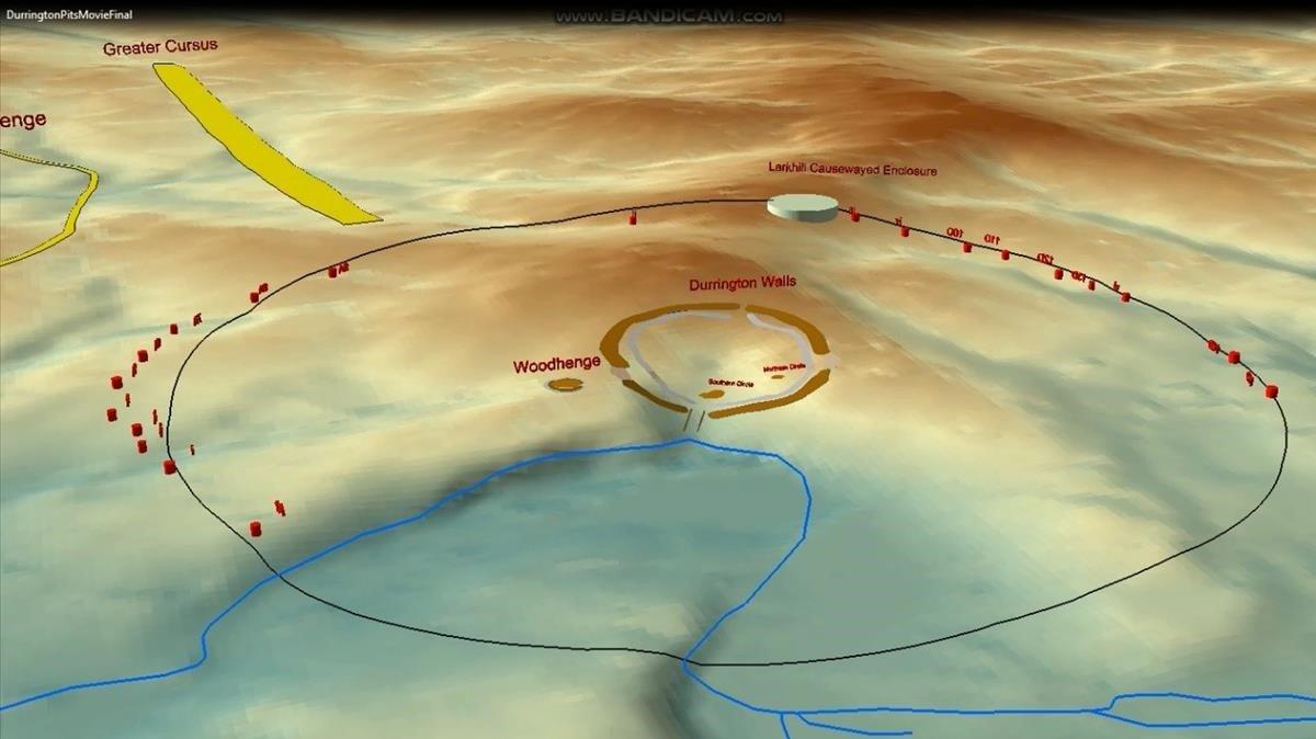 Descobert un nou cercle de monòlits de pedra a prop de Stonehenge