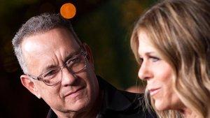 Tom Hanks y Rita Wilson.