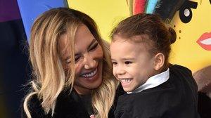 Naya Rivera, con su hijo, Josey Hollis Dorsey, en una imagen de febrero del 2019.