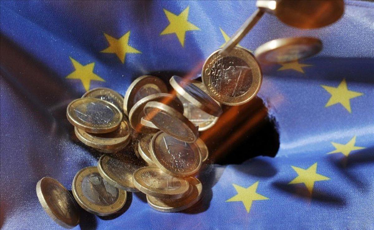 L'economia de la zona de l'euro disminueix un 12,1%