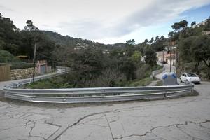 Vallas en el barrio del Rectoret, en Sarrià Sant Gervasi