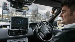 Coche autónomo Jaguar Land Rover