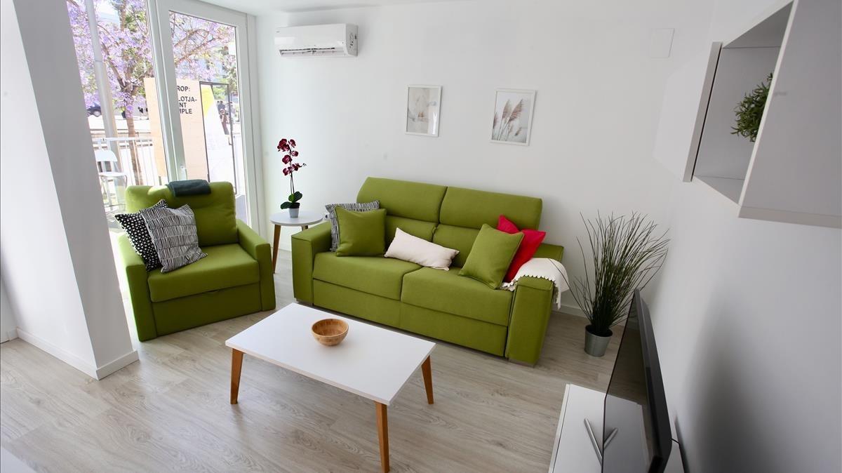 Barcelona: Así son los pisos prefabricados tipo Ikea que hará Colau