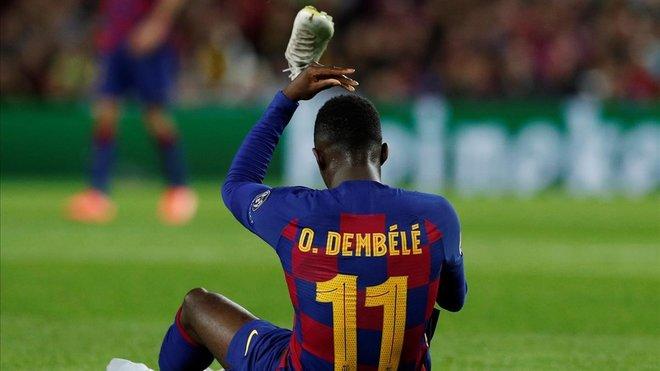 Ousmane Dembélé 10 semanas de baja con el Barcelona tras lesión