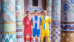 L'Espanyol presenta els equipaments per a la temporada 2018-19