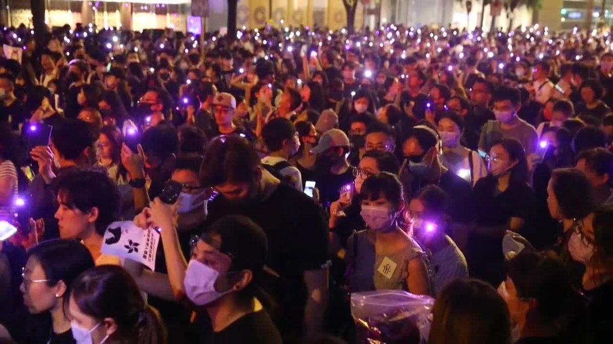 Oleada de detenciones de activistas pro democracia en Hong Kong.