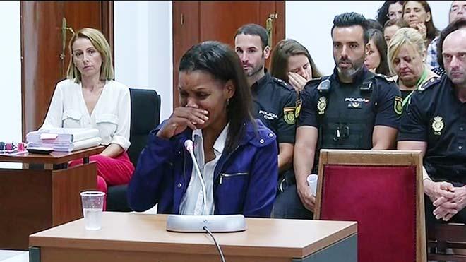 Ana Julia Quezada: 'Cuando dejé al niño en el suelo, ya no respiraba'.