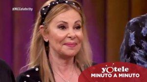 Ana Obregón, primera expulsada de 'Masterchef Celebrity 4'.