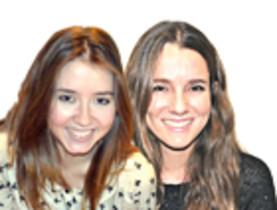 Andrea Gómez y Anna Pacheco