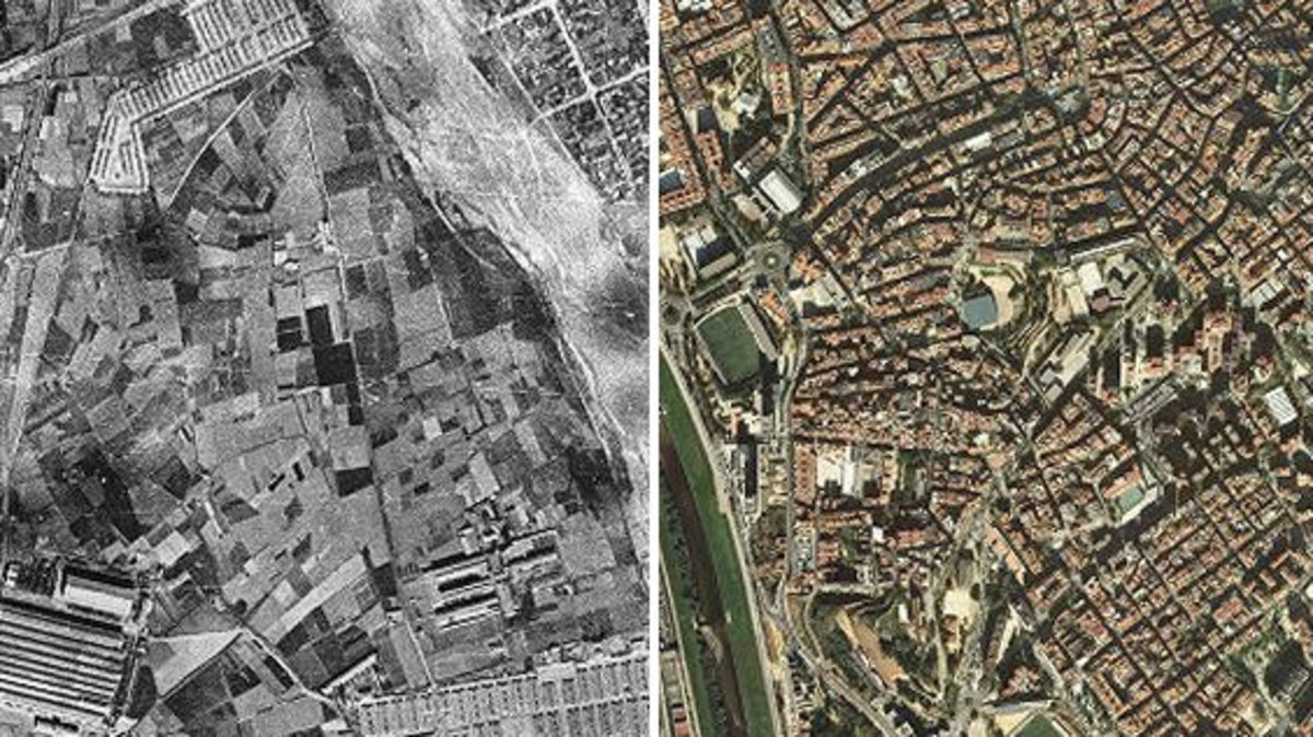 INTERACTIU   Mira com ha canviat la teva ciutat o el teu poble en 70 anys