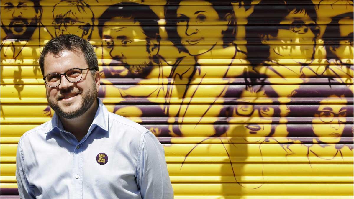 Aragonès pide al Gobierno de Sánchez que vigile a sus uniformados ante símbolos soberanistas.