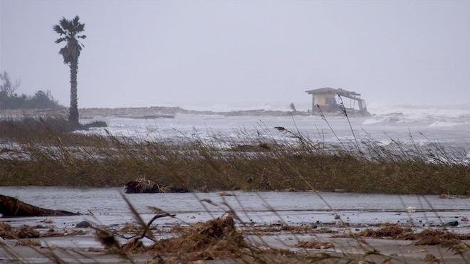 El azote de 'Gloria' deja un Delta del Ebro aún más frágil