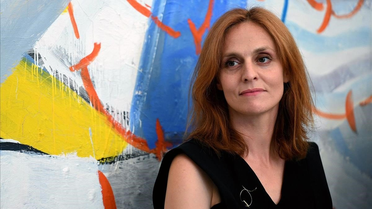 Beatriz Navas, el pasado julio, en la toma de posesión como directora del ICAA.