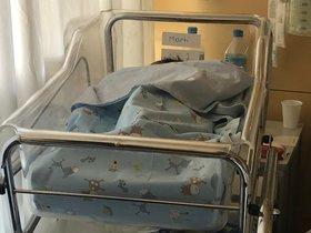 Martí nació el 1 de enero a las 6:40 horas, con un peso de 2,3 kg.