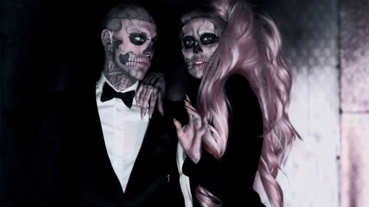 Born this way, vídeo en el que Lady Gaga colaboró con Zombie Boy.