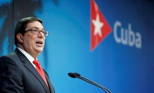 El canciller cubano Bruno Rodríguez Parrilla presentó el informe anual que elabora el Gobierno cubano para cuantificar los daños que provoca el bloqueo.