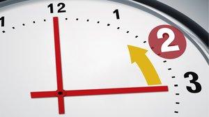 Con el cambio al horario de invierno a las tres de la madrugada volverán a ser las dos.