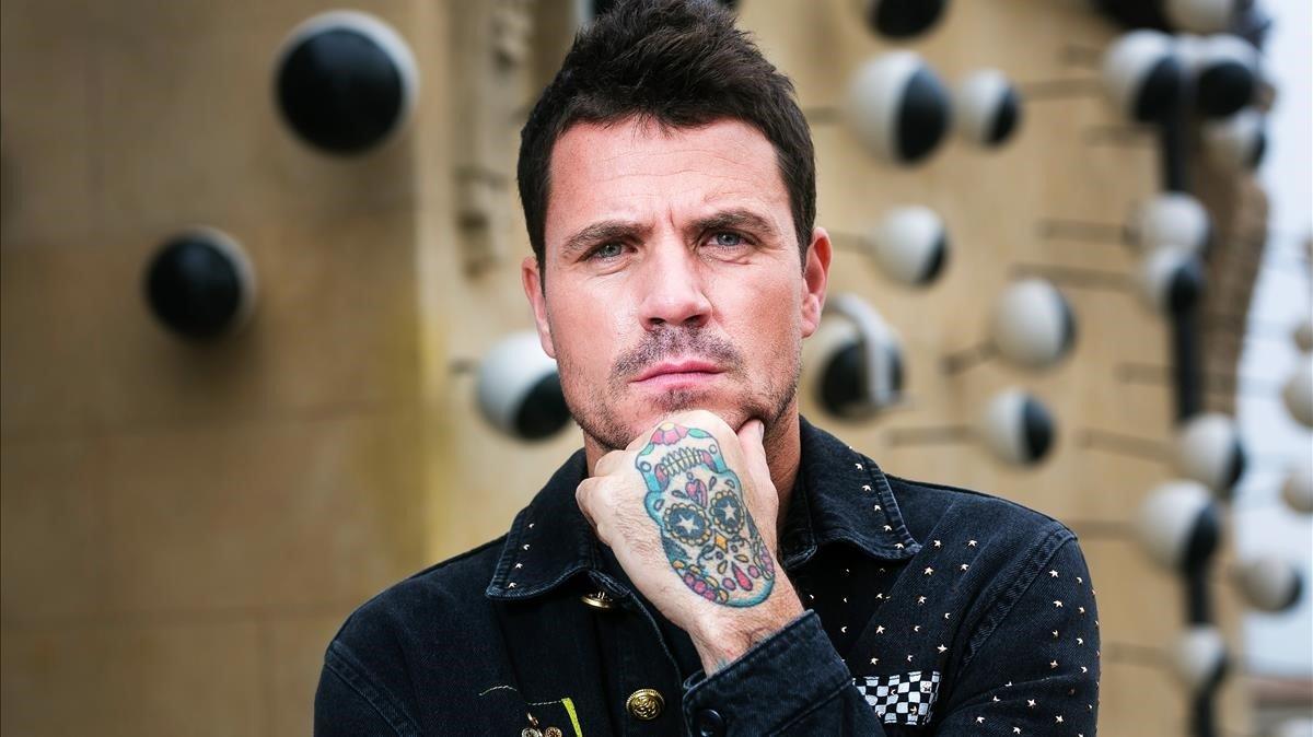 El cantante Dani Martín posa para EL PERIÓDICO enBarcelona