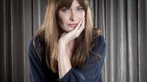 La cantautora francesa Carla Bruni